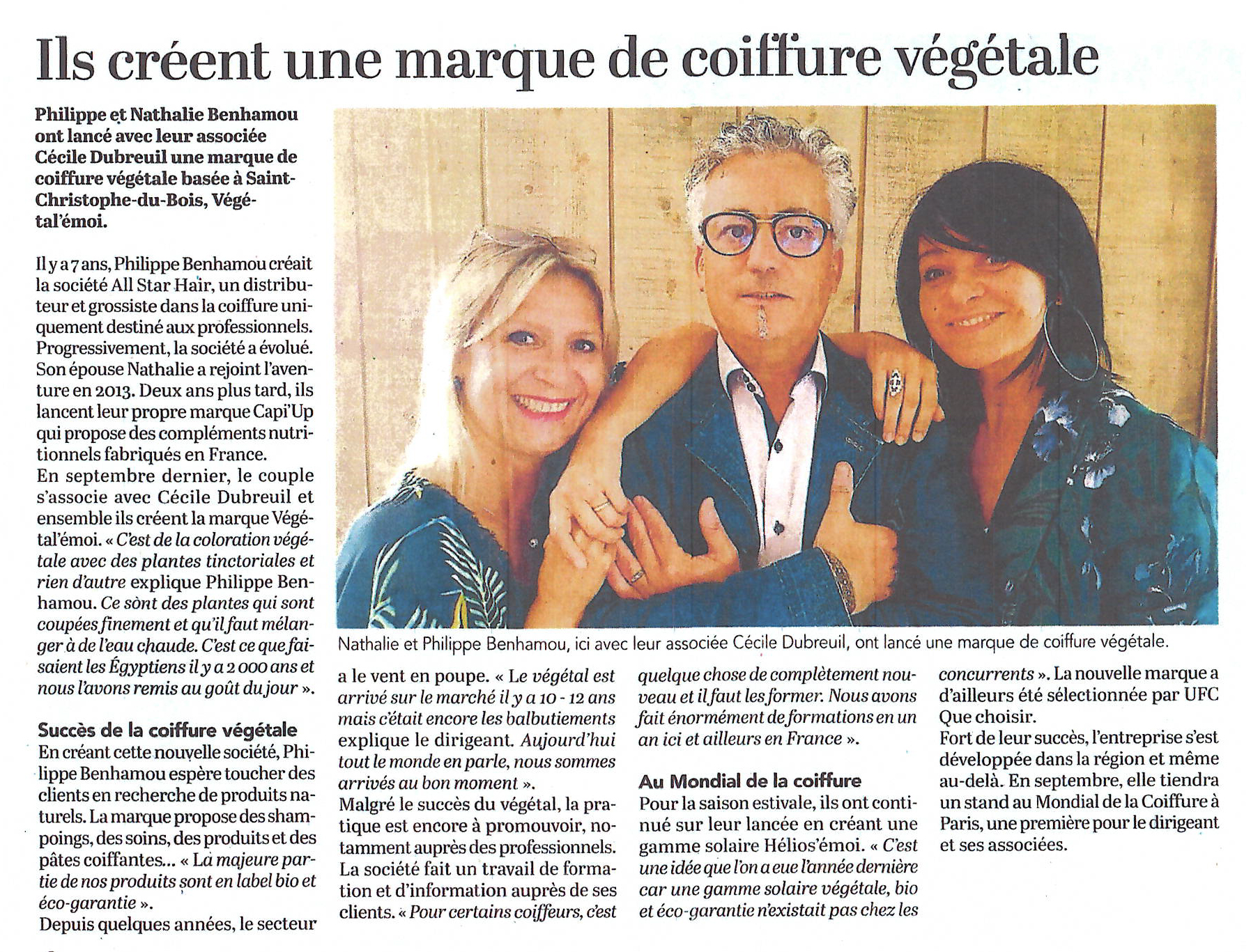 courrier de louest - vegetalemoi